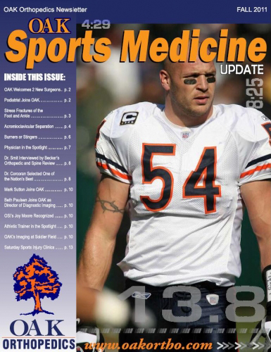 OAK Sports Medicine Update - Fall 2011