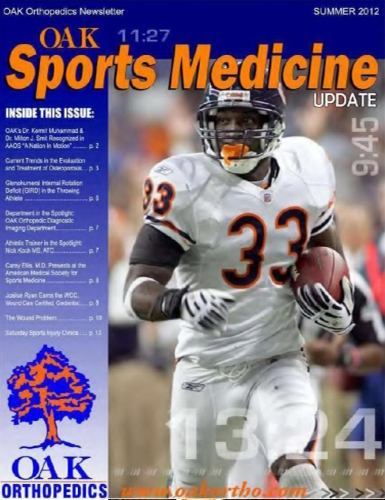 OAK Sports Medicine Update - Summer 2012